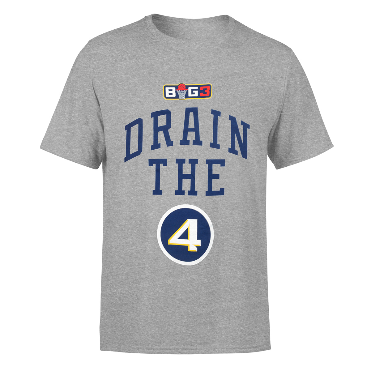 Drain the 4 Grey T-Shirt