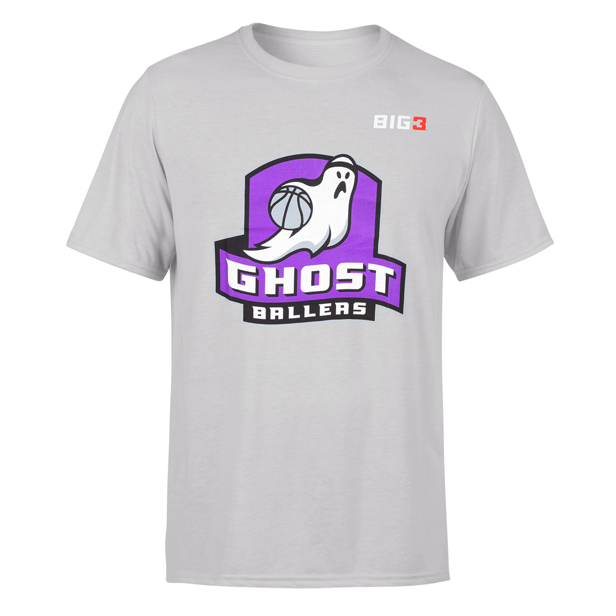 Ghost Ballers - Grey T-Shirt