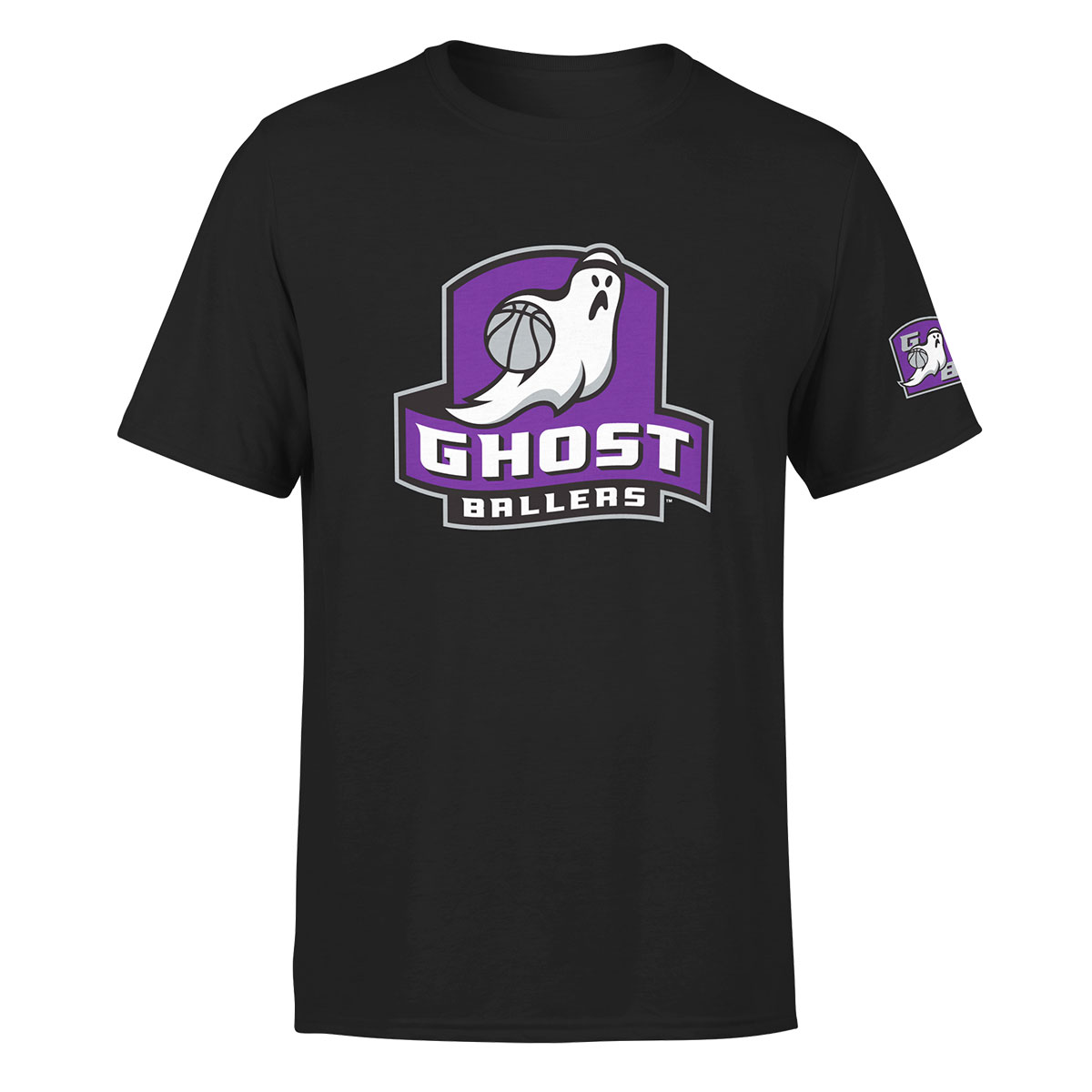 BIG3 GHOST BALLERS BLACK T