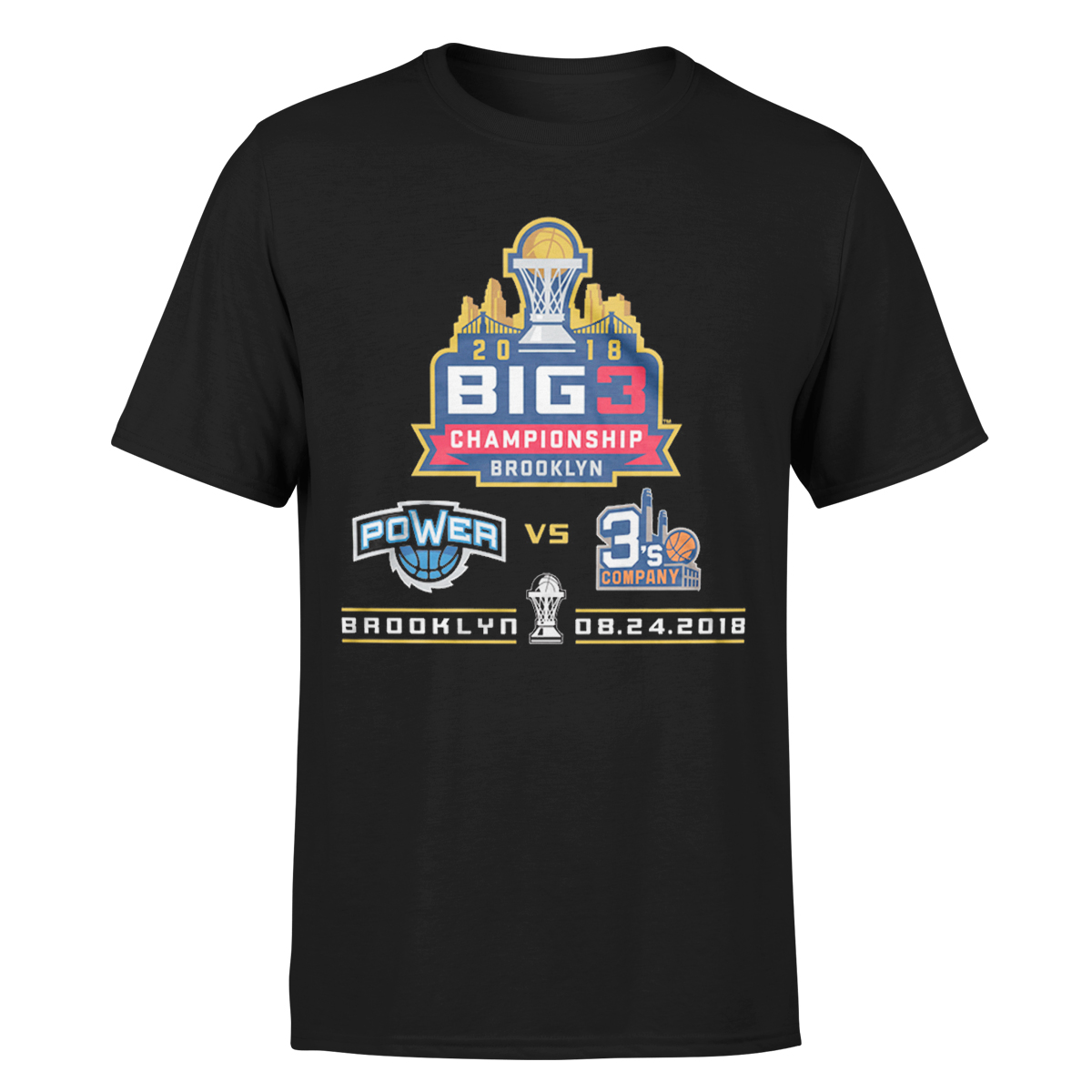 2018 Big3 Championship Black T-shirt