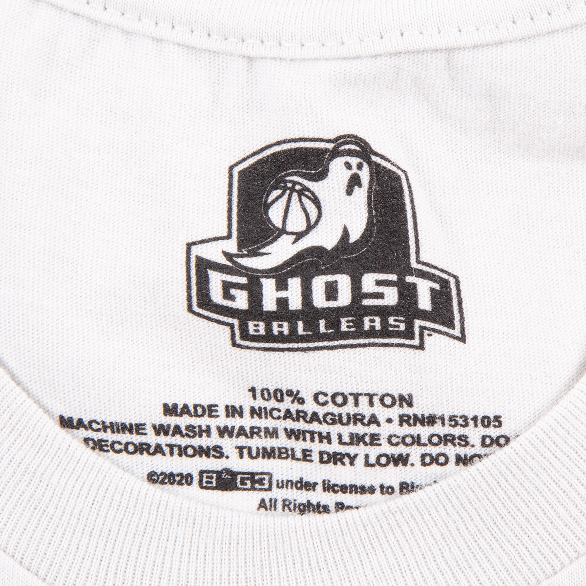 Ghost Ballers - Webstore Exclusive 2019 Season T-Shirt