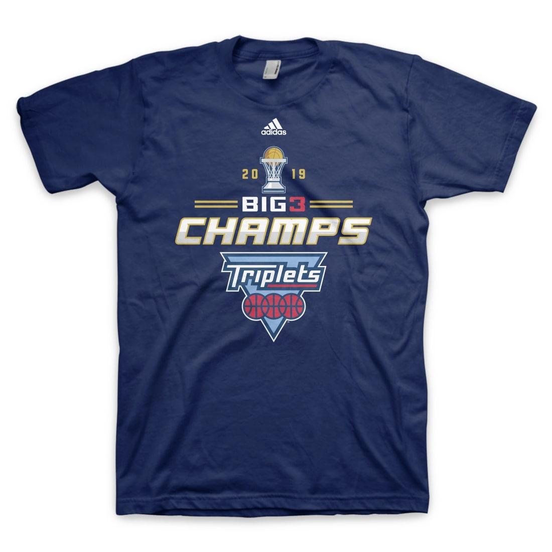 Triplets 2019 Championship T-Shirt