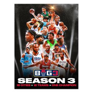 Big3 Season 3 Poster