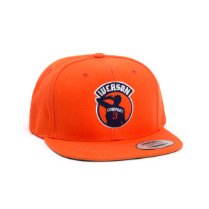 IVERSON 3's COMPANY ORANGE FLATBRIM HAT