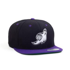 Ghost Ballers Black/Purple Hat