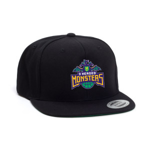 BIG3 3 HEADED MONSTER FLEX HAT