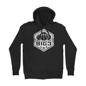 Big3 Shield Logo Hoodie