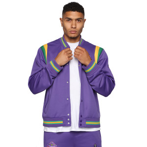 Team 3 Headed Monsters Jacket - Purple