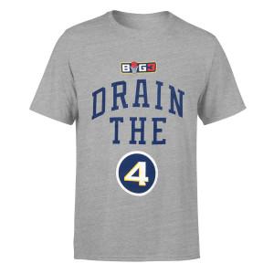 Drain the 4 Grey T-Shirt