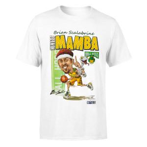 Mamba Caricature White T-Shirt