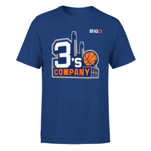 Three's Company Blue T-shirt