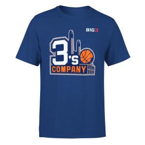 Three's Company Blue T-shirt