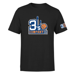 BIG3 3'S COMPANY BLACK T-SHIRT