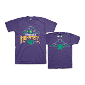 3 Headed Monsters - Webstore Exclusive  2019 Season T-Shirt