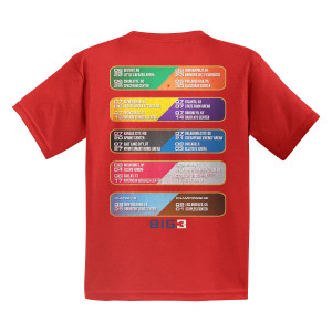 Team Spirit Red Youth T-Shirt
