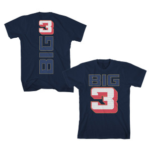Big3 Mesh Logo T-Shirt