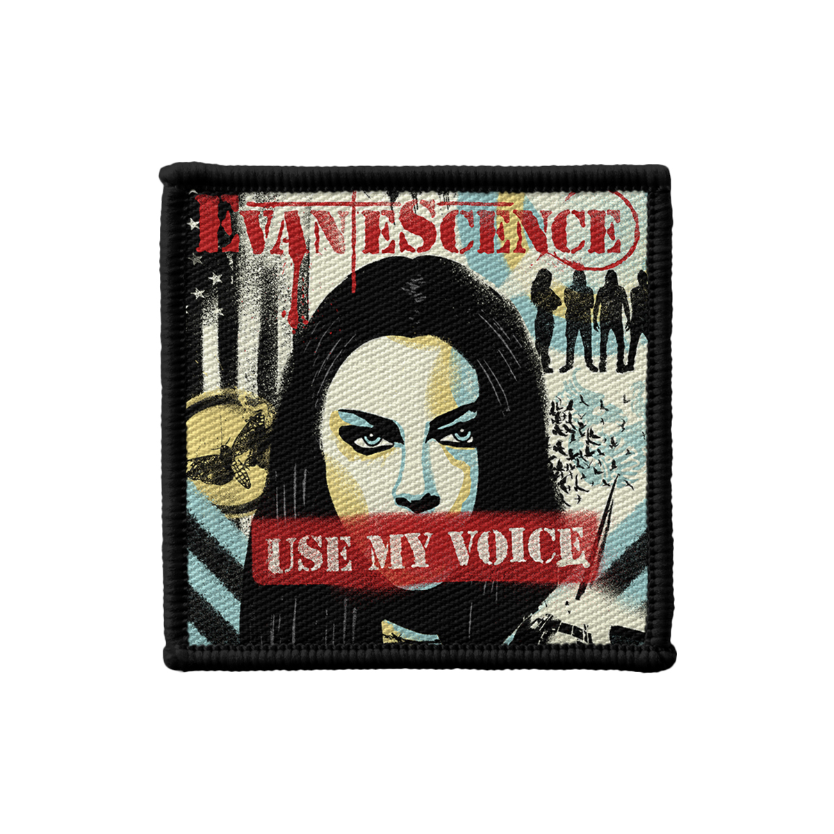 Use My Voice Printed Patch Set