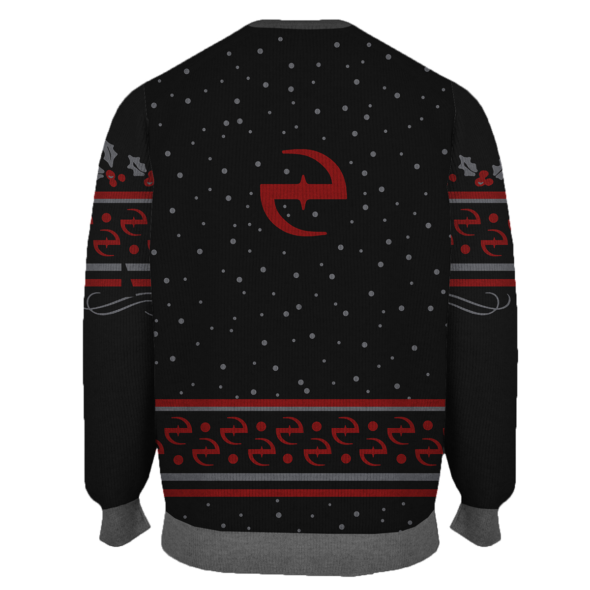 Evanescence Woven Holiday Sweater