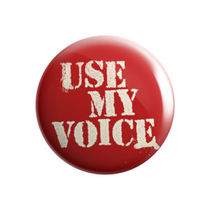 Use My Voice Pin Set