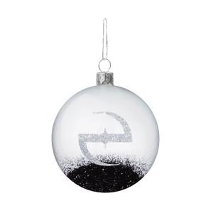 Glitter Snowglobe Ornament