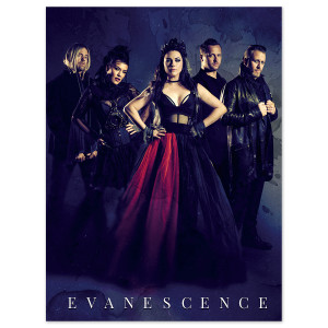 Evanescence Band Photo Litho