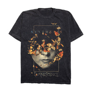 Half Face Mineral Wash T-Shirt