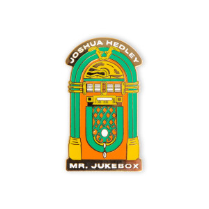 Joshua Hedley - Mr. Jukebox Lapel Pin