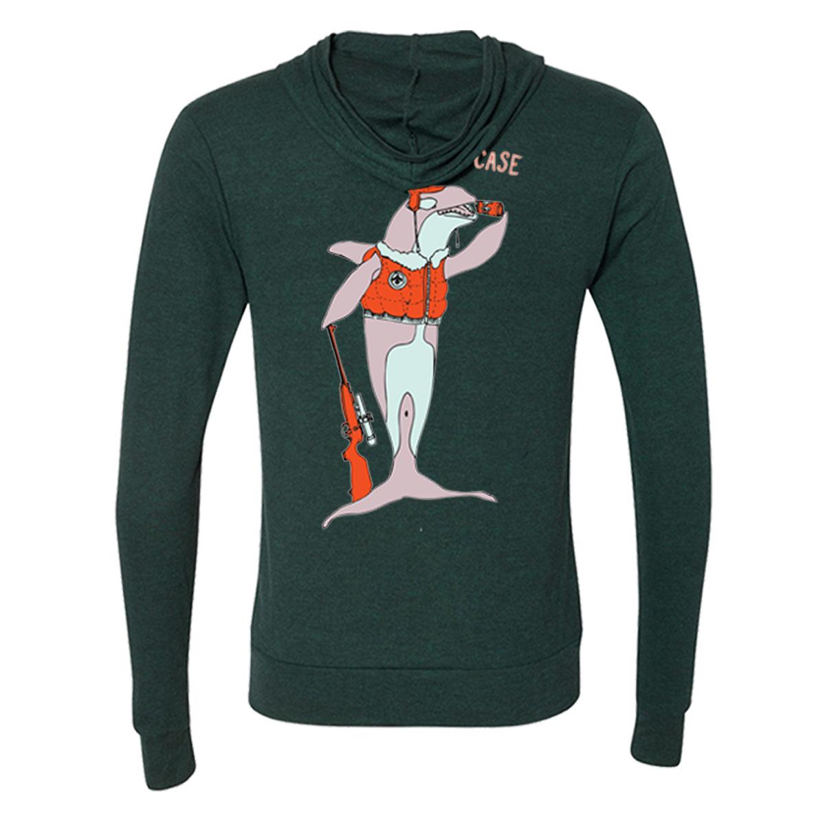 Orca Zip Hoodie