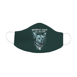 Bruce Sublimated Face Mask