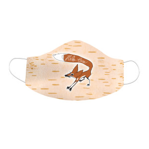 Fox Sublimated Face Mask