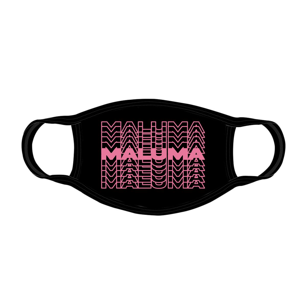 Maluma Repeat Black Mask