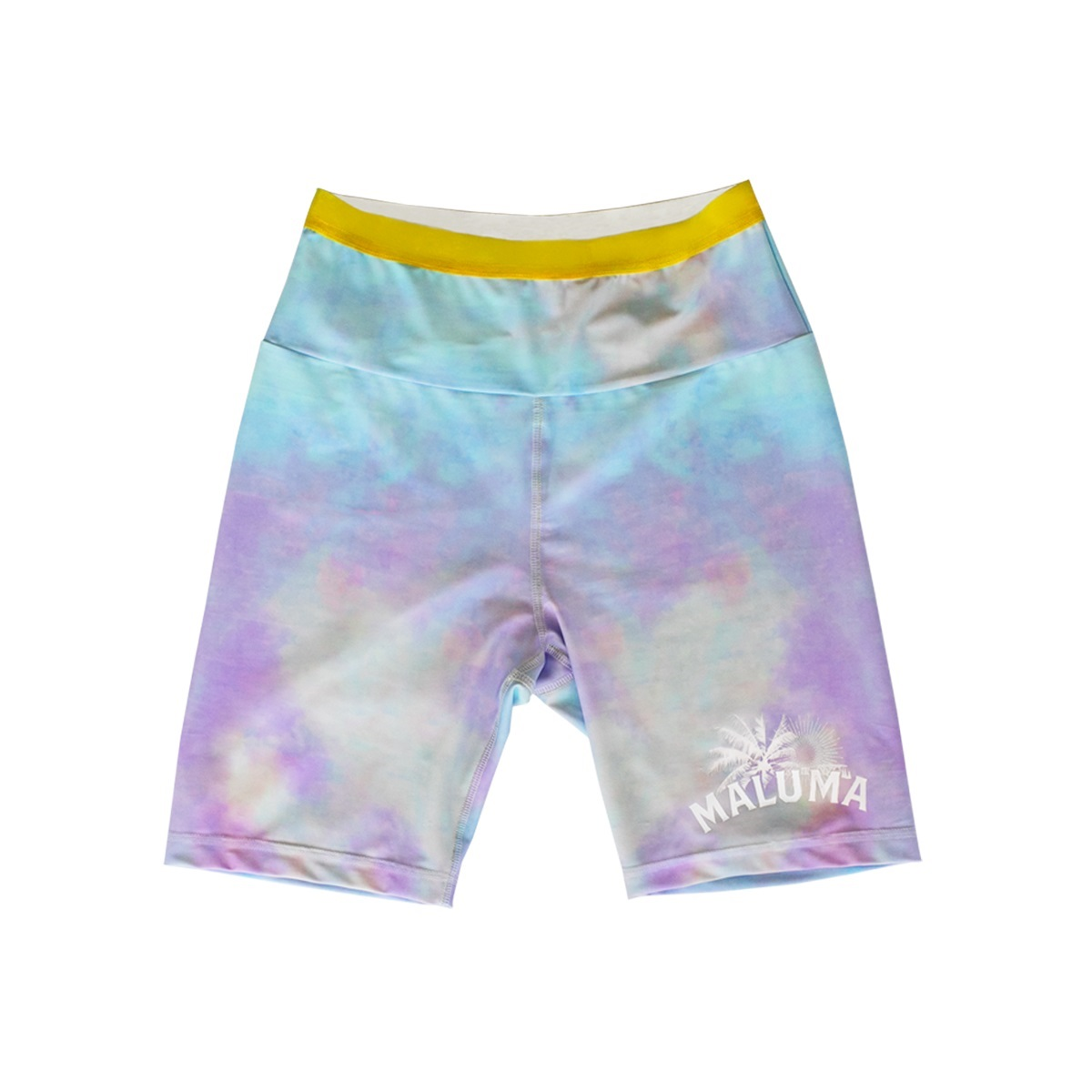 Dyed Golden Hour Biker Shorts