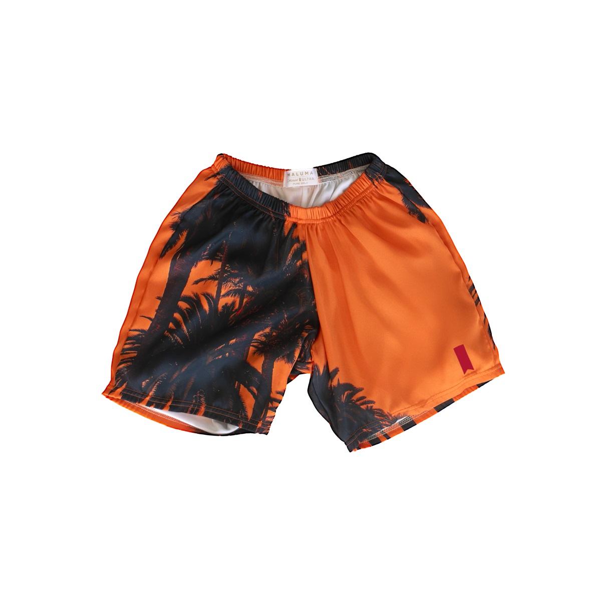 Sunset Orange Premium Shorts