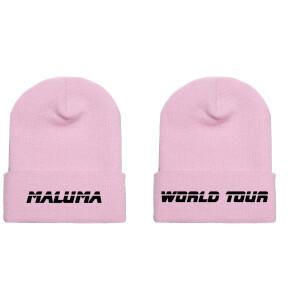 Maluma World Tour Pink Beanie