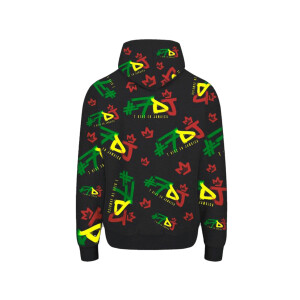 #7DJ Color Logo All-Over Hoodie