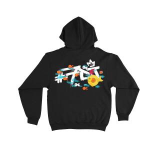 #7DJ Logo Black Hoodie