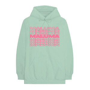 Maluma Repeat Mint Pullover Hoodie