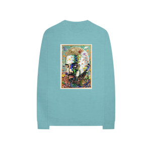 #7DJ Portrait Mint Long-Sleeve Tee