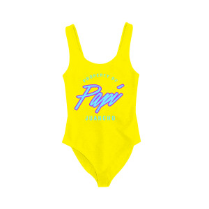 Papi Juancho Yellow Bodysuit