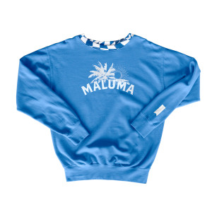 South Beach Blue Crewneck