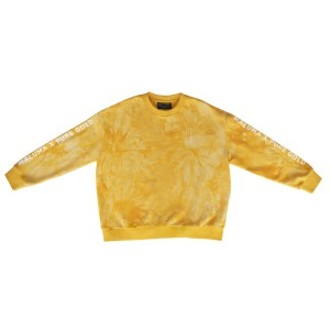 Dyed Gold Crewneck