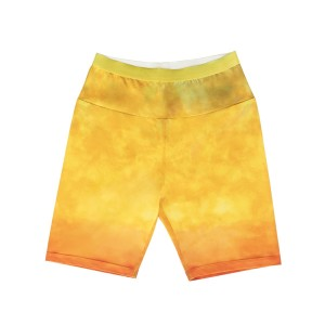 Dyed Sunset Biker Shorts