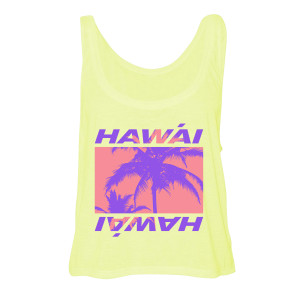 Hawái Yellow Women's Tank
