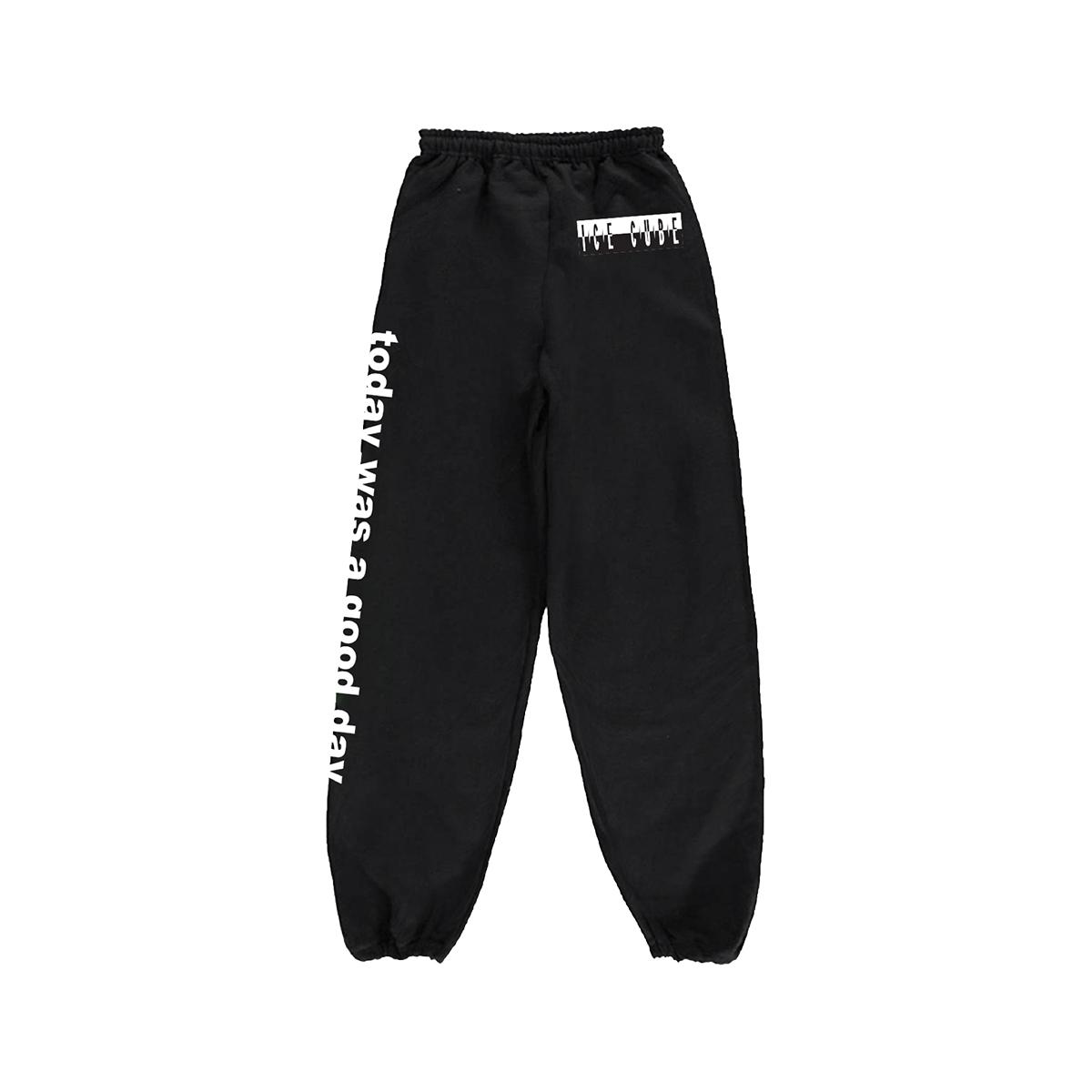 Good Day Black Sweatpants