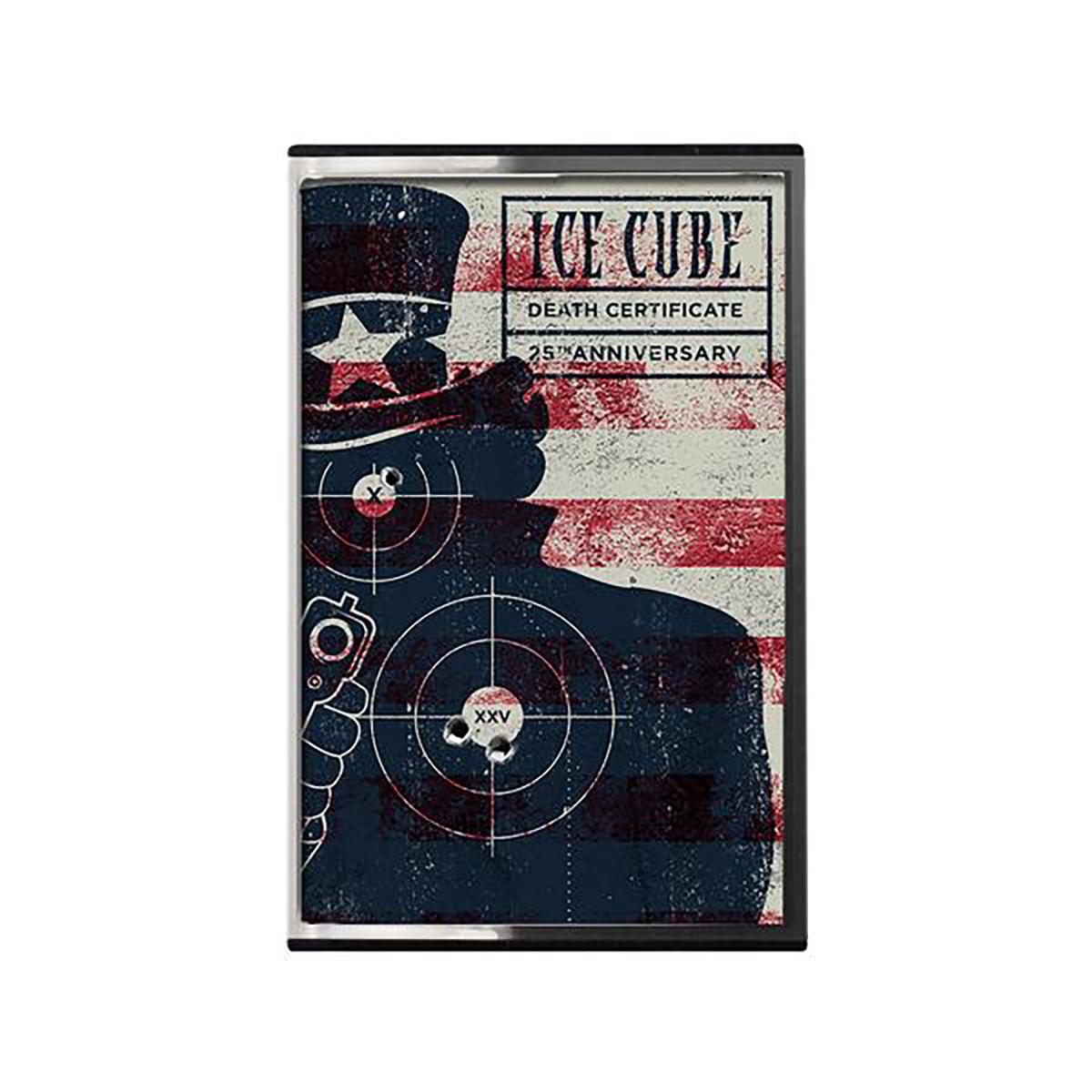 Death Certificate 25th Anniversary Cassette