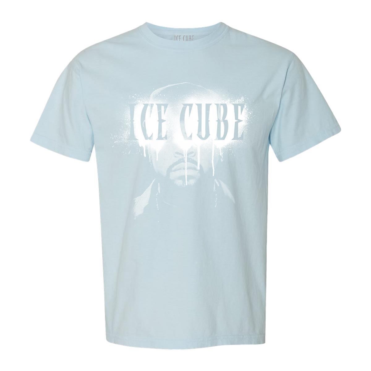 Cube Airbrush Blue T-Shirt