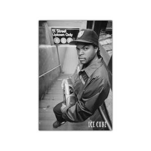 Ice Cube Subway Poster