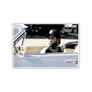 Ice Cube in Impala Poster