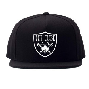 Shield Logo Black Flat brim