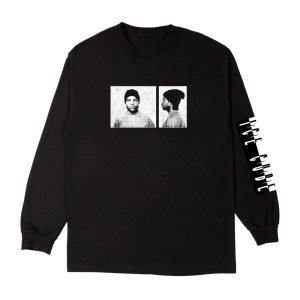 Ice Cube Mug Shot Black Long Sleeve T-shirt